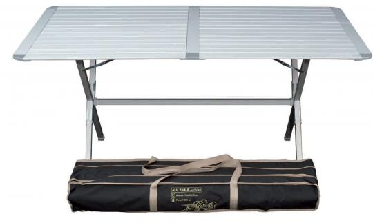 Alu Campingtisch Genius 150x80cm