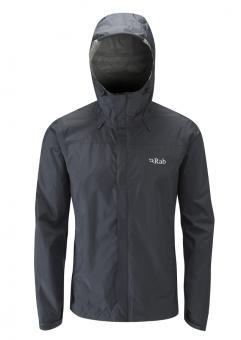 Rab Downpour Jacket Men Black   XL