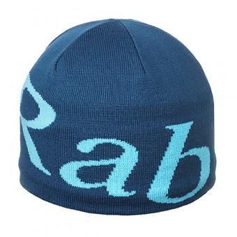 Rab Logo Beanie Fjord (Blau)