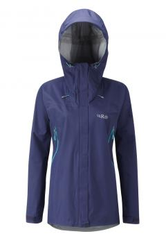Rab Vidda Hardshell Jacket Women Twilight (dunkelblau) | UK 10