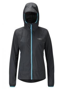 Rab Windveil Jacket Women Ebony | S (10)