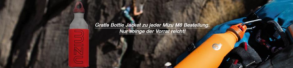 Mizu Aktion M8 mit Bottle Jacket