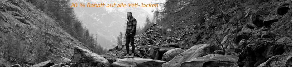 Yeti Daunenjacken -20%